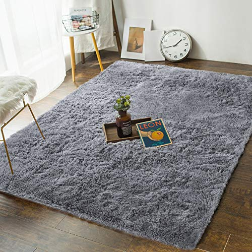 Andecor Soft Fluffy Bedroom Rugs