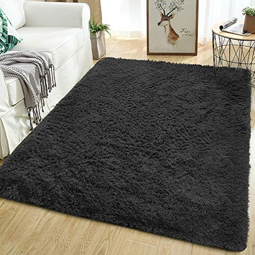 Softlife Fluffy Bedroom Area Rugs