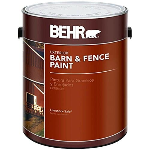 BEHR Exterior Barn and Fence Paint