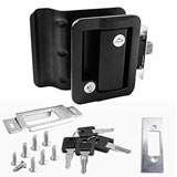 RV Travel Trailer Entry Door Lock