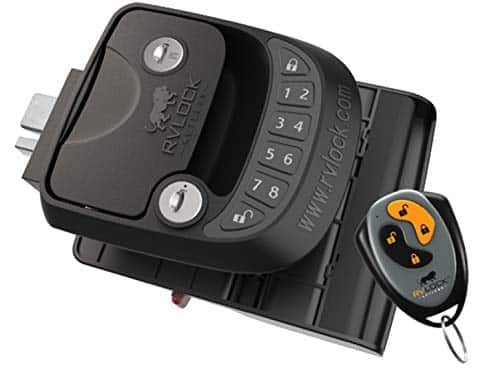 RVLock Key Fob and RH Compact Keyless Entry Keypad
