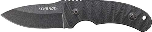 Schrade SCHF57 6.3in Steel Full Tang Fixed Blade Knife