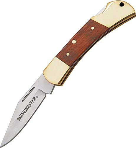 Winchester 22-41324 Brass Folding Knife