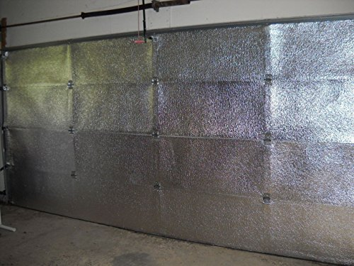 US Energy NASA TECH (Pre-Cut for 8 Panel) 1 Car Garage Door Reflective Insulation Kit