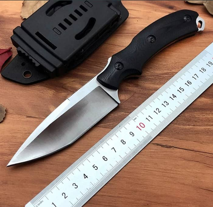 What is the best Rockwell hardness for a knife