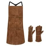 EletecPro Leather Welding Apron